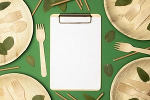 conceito de reciclagem ecologicamente correto foto