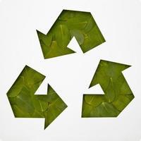 conceito de reciclagem ecologicamente correto