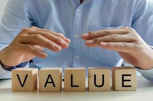 blocos de construção de valor