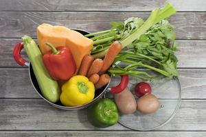 legumes frescos para sopa