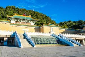 museu do palácio nacional de taipei em taipei, taiwan foto