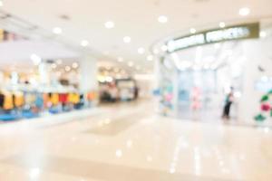 blur shopping center