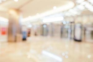 borrão abstrato shopping do interior da loja de departamentos