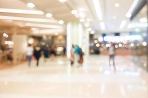 interior desfocado de shopping para o fundo de compras