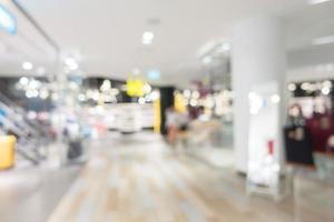 interior do shopping para o fundo