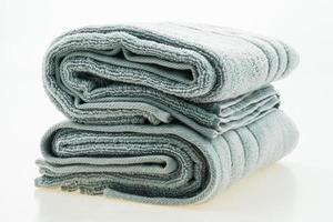 toalhas isoladas em fundo branco