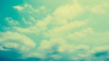 fundo de nuvens vintage