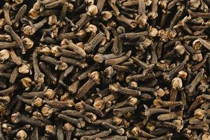 montes de cravos-da-índia close-up foto