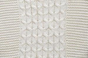 moletom tricotado detalhado foto
