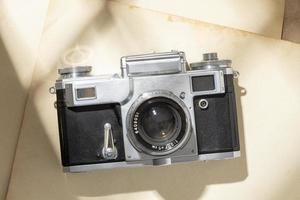 composição de câmera vintage foto