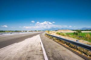 vista panorâmica do tplex no caminho para baguio city, filipinas foto