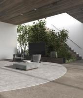 arquitetura moderna com escadas foto