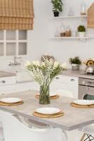 design de interiores de cozinha foto