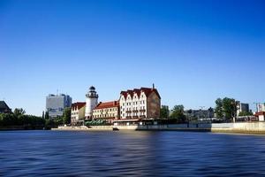 a paisagem urbana da cidade de Kaliningrado foto