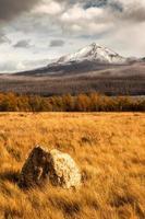 outono no parque nacional glaciar montana eua foto
