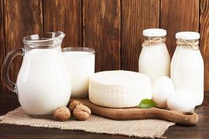 leite nutritivo à base de café da manhã foto