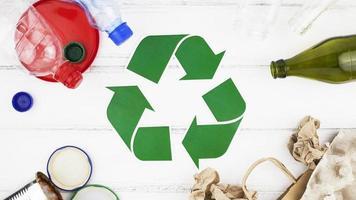 reciclar composição plana lay foto