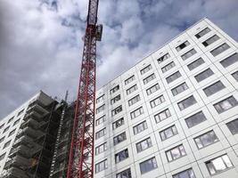 edifício em construção foto