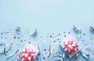 feliz aniversário ou fundo da festa foto