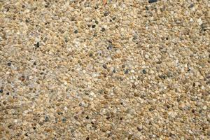 fundo de textura de piso de seixos marrons foto