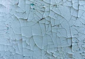 parede velha com tinta azul, close-up foto