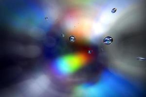 espectro de cores de fundo com bolhas foto