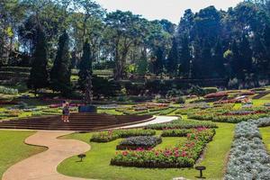jardim botânico em doi tung, chiang rai, tailândia foto