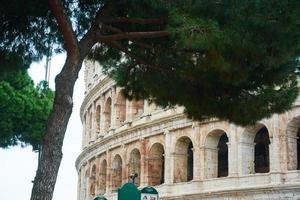 o coliseu em roma, itália foto