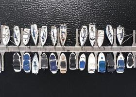 conceito de transporte com fundo de navios foto