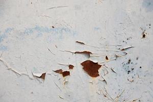 parede de metal enferrujado foto