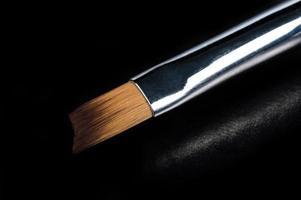um conjunto de ferramentas cosméticas para close up de manicure e pedicure foto