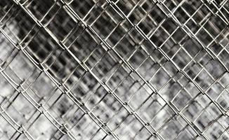 a textura áspera da superfície metálica foto