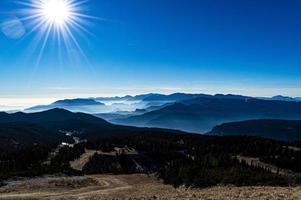 montanhas de verena foto