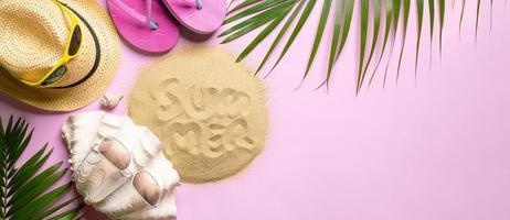 fundo de design de verão foto