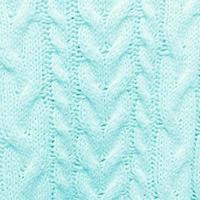 azul turquesa tricotado com textura de fundo quadrado foto