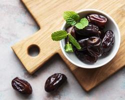 frutas secas de tâmaras foto