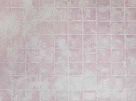 fundo de textura de ladrilho quadrado rosa foto