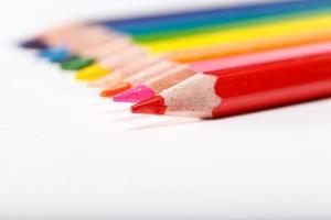 lápis de cor educacionais foto