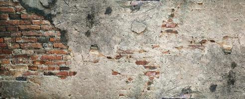 fundo de textura de parede de tijolo velho foto