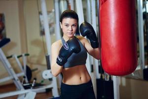 a boxeadora foto