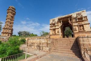 forte chittorgarh em rajasthan, índia foto