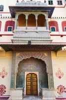 palácio da cidade em jaipur, rajasthan, índia foto