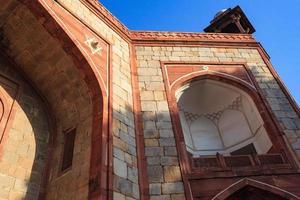 Tumba de Humayun Nova Deli Índia foto