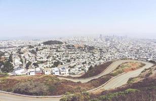 skylines e ruas de são francisco foto