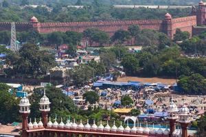 vista de Jama Masjid Nova Deli Índia foto