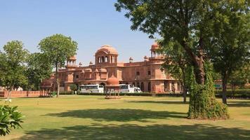 lalgarh palace bikaner rajasthan índia foto