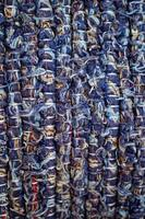 lã azul fundo texturizado abstrato foto