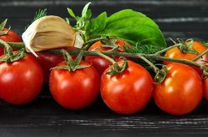 conceito de comida saudável vegetais frescos foto
