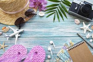 conceito de viagens férias foto