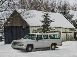 um carro velho foto